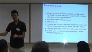 Dr. Avinatan Hassidim: The Israeli Market of Clinical Psychology Students