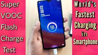 Oppo R17 Pro Super VOOC Flash Charge Test