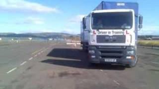 LGV / HGV C+E Class 1 Reversing Exercise With www.goaheadtraining.co.uk