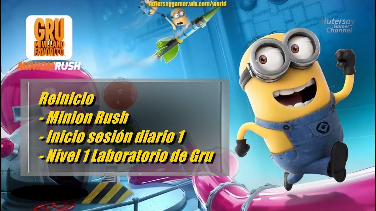 Reinicio - Minion Rush - Inicio sesión diario 1 - Nivel 1 ...