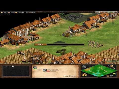 Age of Empires II - 156ª Partida Multijugador En Línea - Gena y Fede