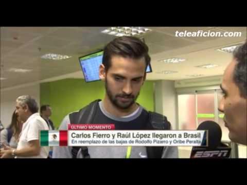 Carlos Fierro y Raul Lopez Listos para jugar en #Rio2016