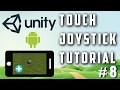 Unity Touch Joystick Input Tutorial + Th