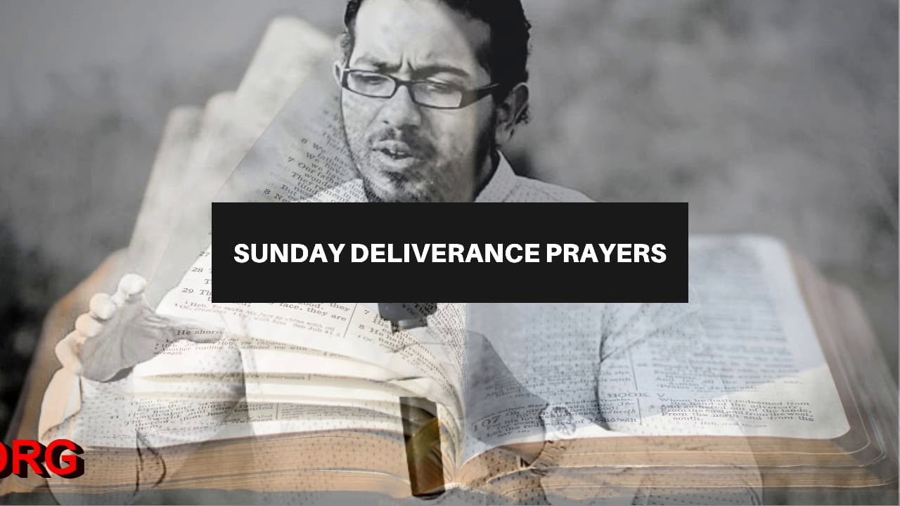 GOD'S POWER WILL SET YOU FREE FROM ALL BONDAGE, Sunday Deliverance Prayers with Ev Gabriel Fern