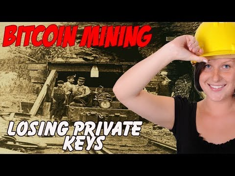Bitcoin Misadventures |  Miners Lose Their Private Keys