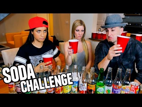Thumbnail: GROSS SODA CHALLENGE W/ Lilly Singh