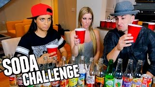 GROSS SODA CHALLENGE W/ Lilly Singh