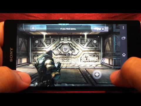 BEST GRAPHICS GAMES ON SONY XPERIA Z GAMEPLAY 1