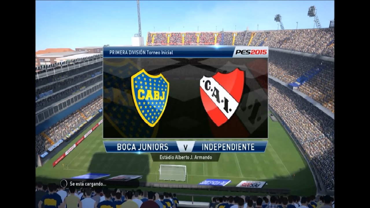 Pes  Gameplay Boca Juniors Vs Indepen Nte Hd Pc