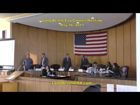 Long Beach City Council Meeting 05/16/17