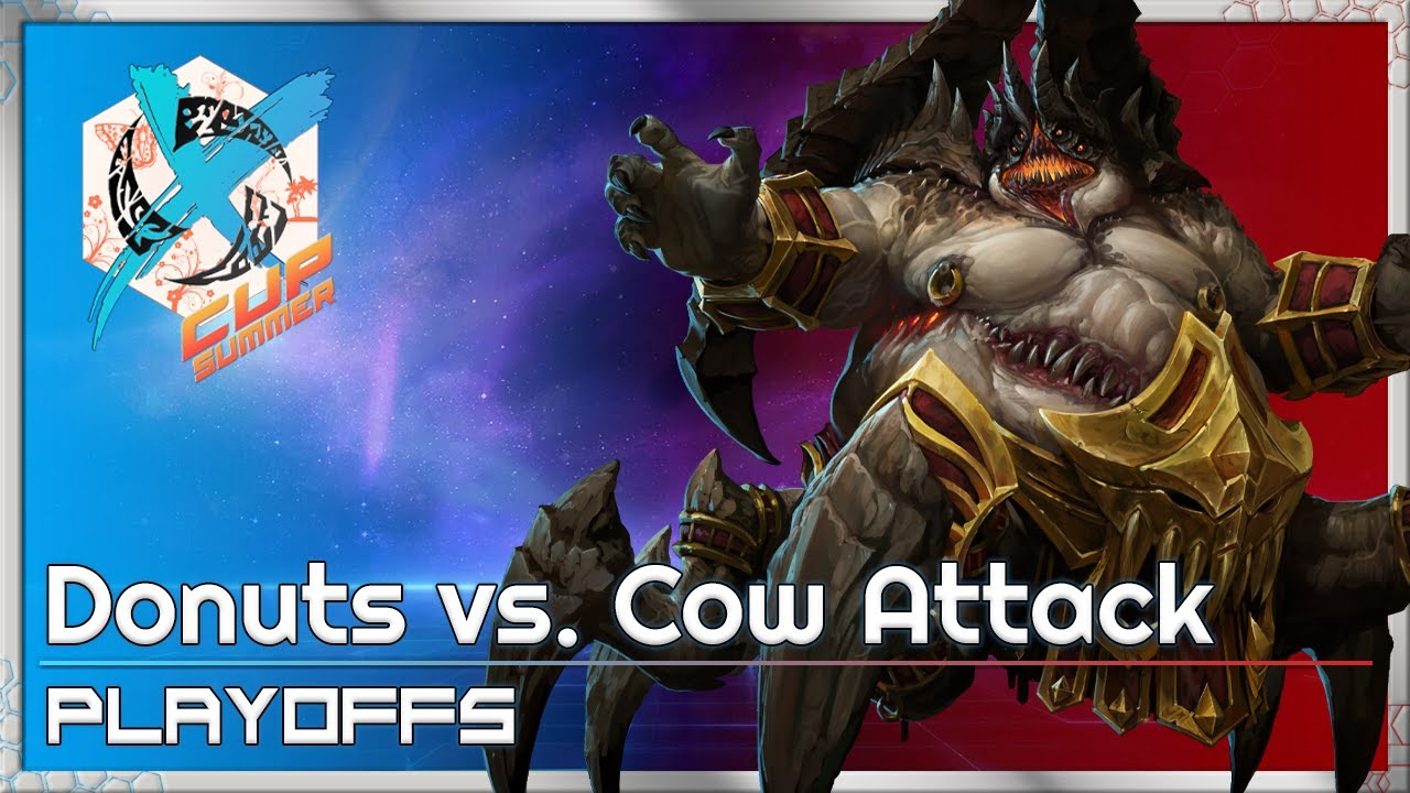 Cow Attack vs. Donuts - XCup Playoffs - Heroes of the Storm 2021