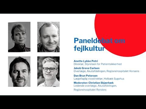DASEM Årsmøde 2021 - Paneldebat om fejlkultur