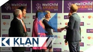 Princ Harry ndan kohë për fëmijët me sëmundje serioze - 06.10.2015 -  Klan Kosova