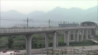 重庆轨道交通1号线赖家桥站 Part1, Chongqing Rail Transit LaiJiaQiao Station 26/Jul/2015