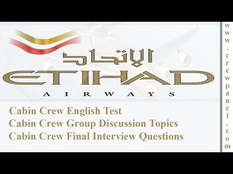 Cabin Crew English Test | Cabin Crew Group Discussion Topics