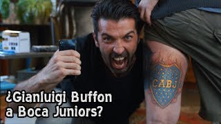 Video: Ocurrente meme sobre la llegada de Buffon a Boca