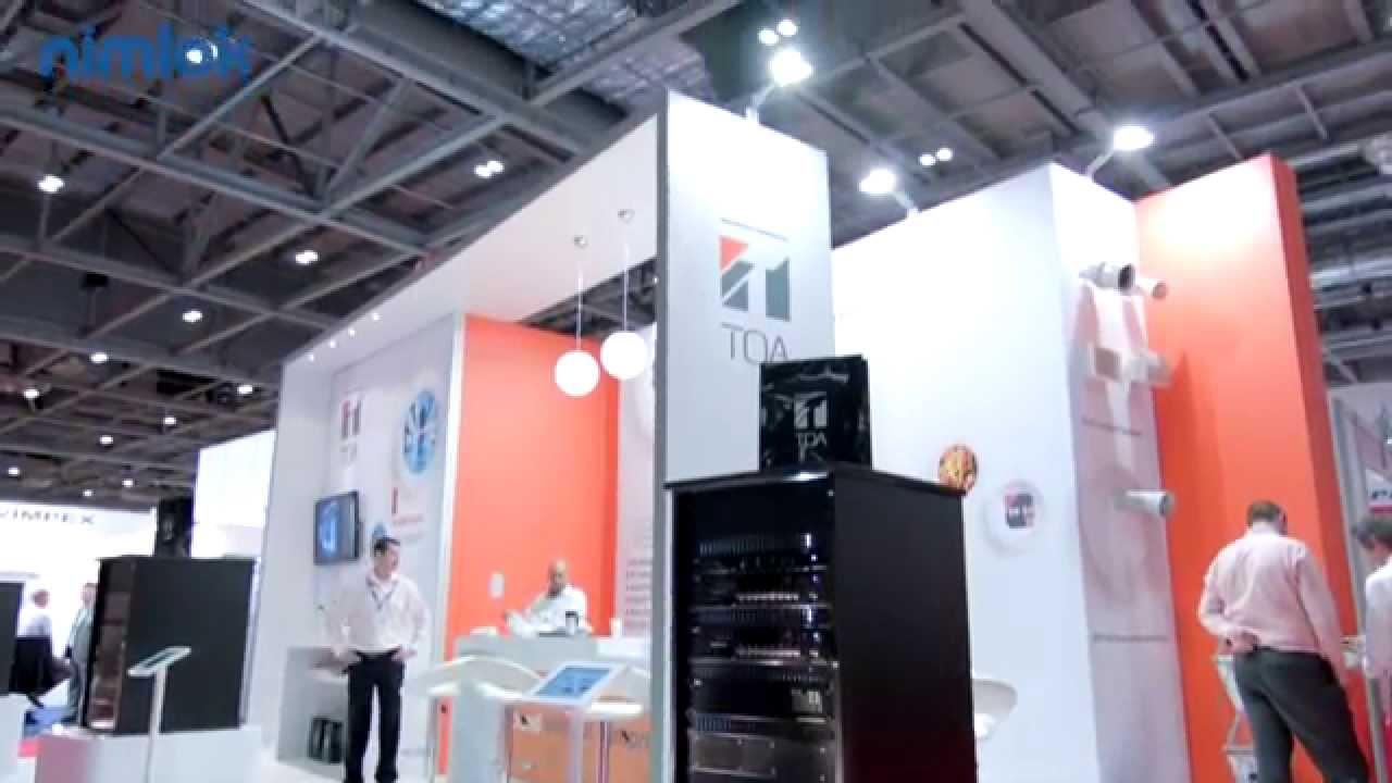 Exhibition Stand Architecture : Toa testimonial for nimlok hired exhibition stand architecture