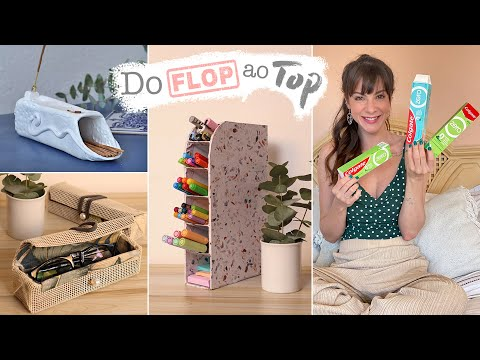 DIY c/ Caixinhas de creme dental! - Do Flop ao Top