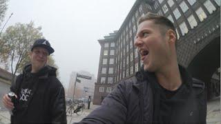 In Hamburg mit UngeBlack88 | Making of Halloween Movie | inscopelifestlye