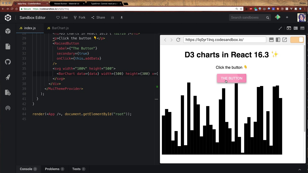 Declarative D3 Charts With React 16 3 [Text and Video] - DZone Web Dev