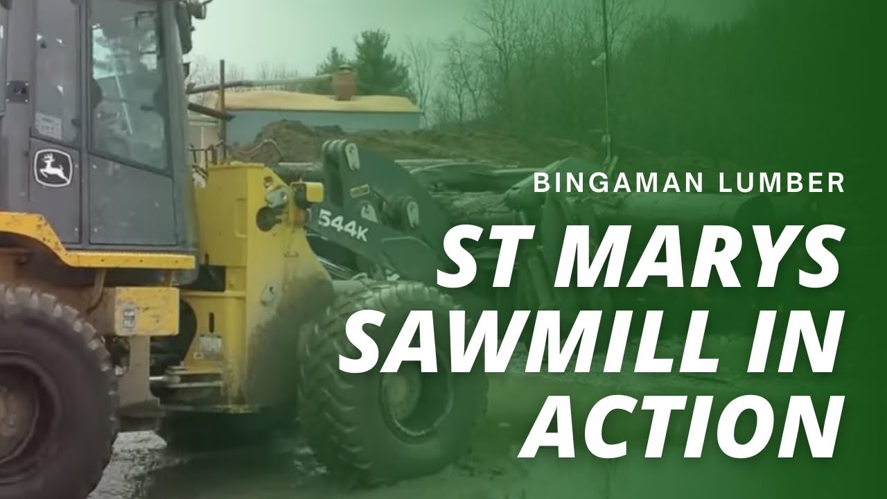 BSL St Marys Sawmill in action - YouTube