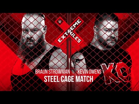 WWE Extreme Rules 2018: Updated Card