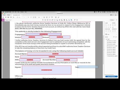 How To Create A Form In Acrobat DC