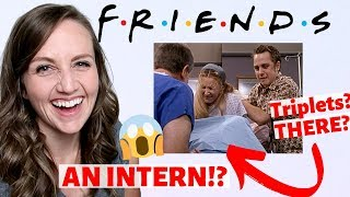 Ob/Gyn Reacts to Triplet Birth on Friends | Phoebe's Babies