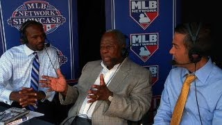 TEX@CWS: Hank Aaron joins booth for Civil Rights Game