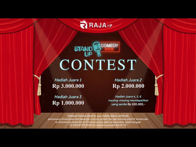 Lomba Stand Up Comedy - 2020 - Raja TV