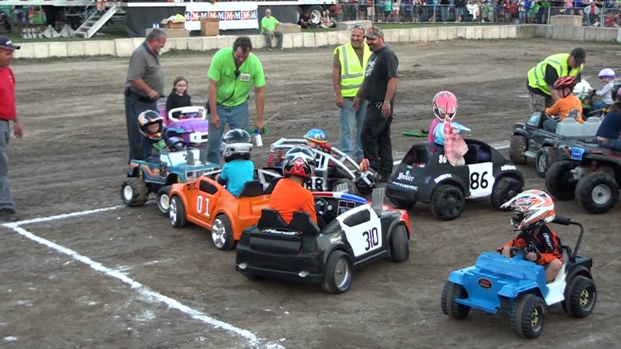 Smithville Fair Powerwheels Demo Derby 2013 Youtube