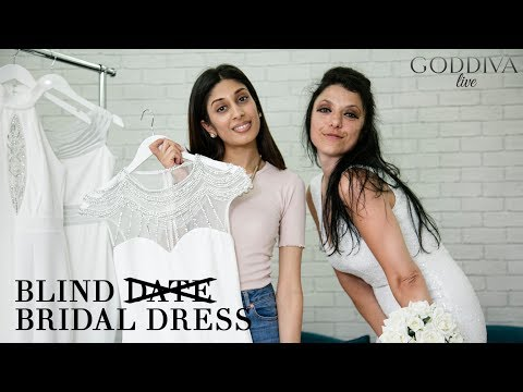 Blind Bridal Dress | Goddiva Live