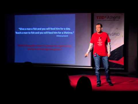Volunteering for tomorrow Gerasimos Kouvaras at TEDxAthens