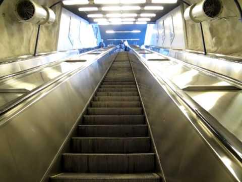 Metro ruoholahti rullaportaat 5.6.2011