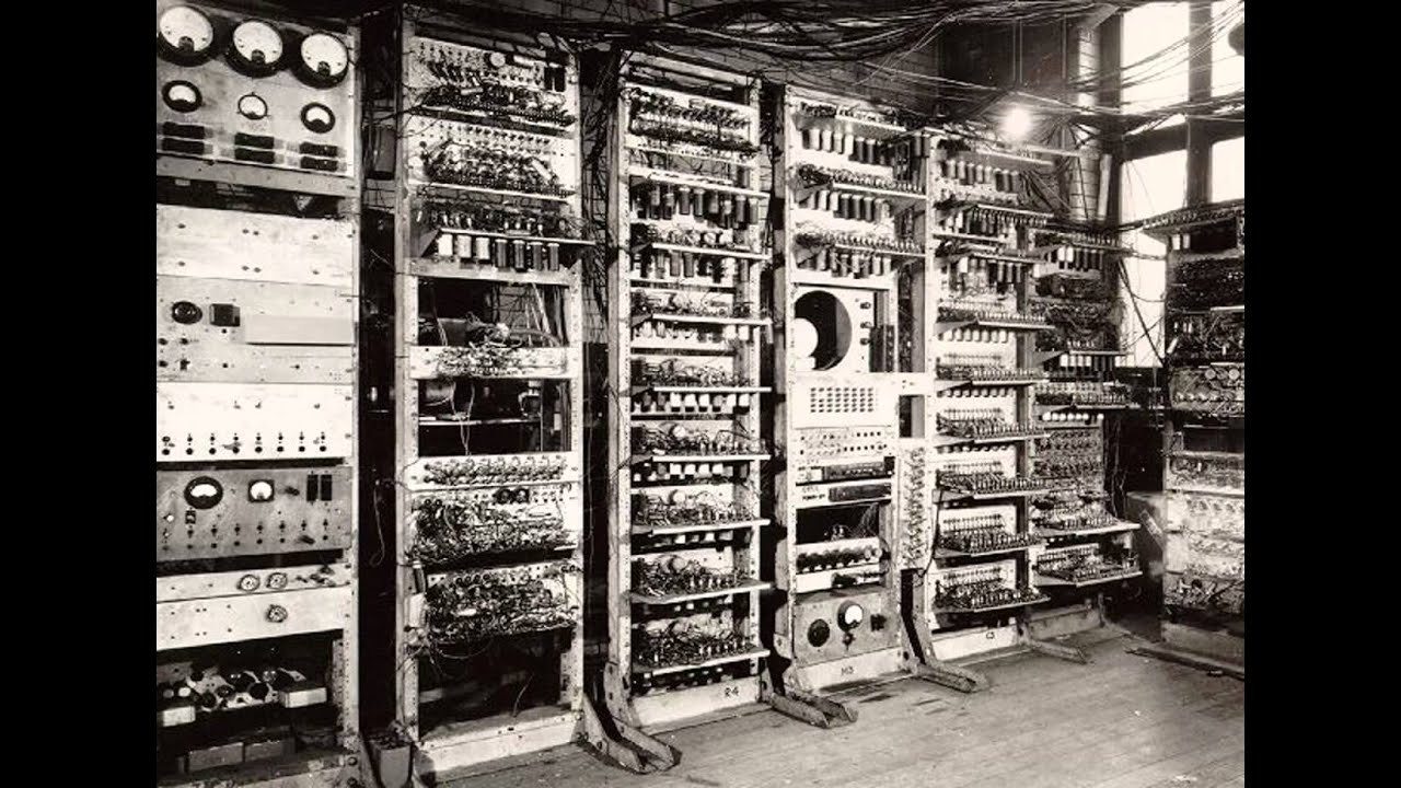 The first Computer in the world , ENIAC - YouTube
