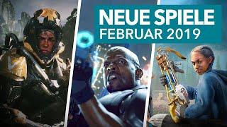 Neue Spiele für PS4, Xbox One & Switch im Februar 2019 - Release-Vorschau
