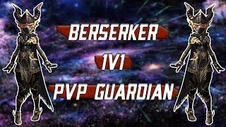 TERA SEA - Berserker 1v1 PvP Guardian Gear