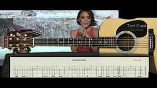Gitar Dersleri - Deli Divanenim ( Ziynet Sali ) - Taci Hoca : 0543 232 91 22