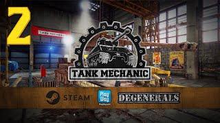 Tank Mechanic Simulator Demo #2 - Wykopaliska i KW-1