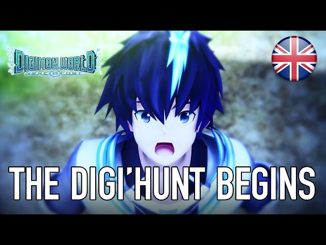 Digimon World Next Order - PS4 - The Digi'Hunt begins (English Trailer)