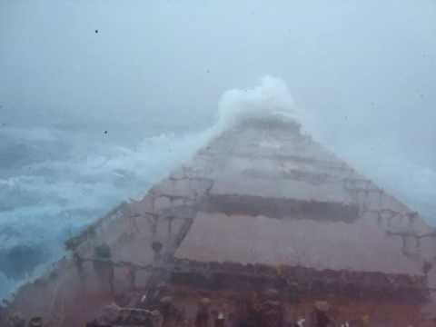 Heavy Sea On Cape Size bulk carrier- Indic Ocean
