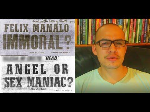 Was Felix Manalo an immoral man? (the Founder of Iglesia ni Cristo)