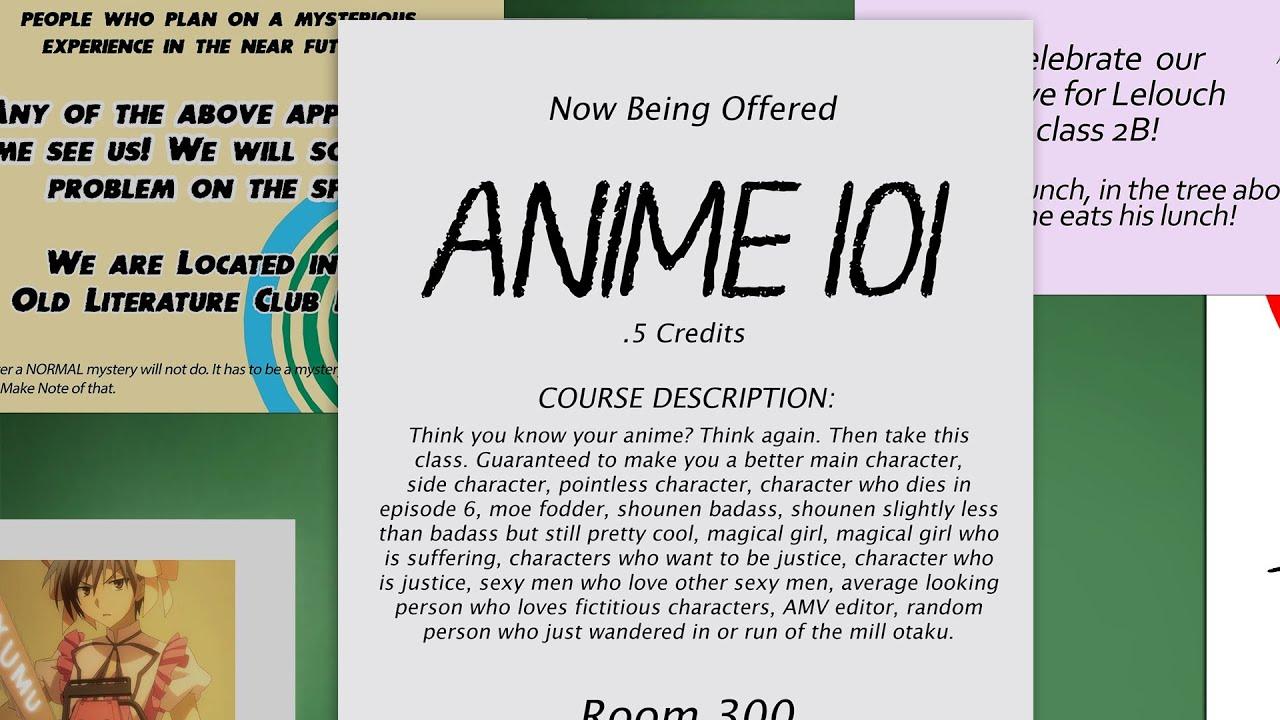 VivifxAMV Anime 101