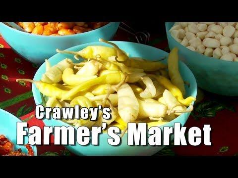 Exploring England: Crawley's Farmer's Market (The Harvest)
