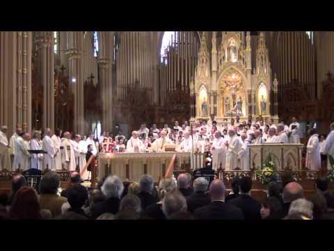 Mgr Claude Thompson / Messe de funérailles