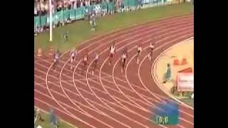 Michael Johnson's 200M WR 19 32 in 1996 Atlanta Olympics