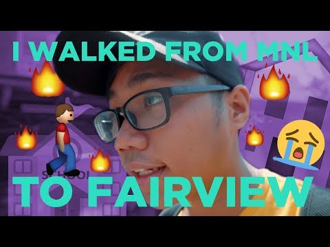 I WALKED FROM MY SCHOOL TO HOME CHALLENGE: UST to Fairview Edition