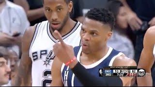 Kawhi Leonard locks down Russell Westbrook - 2016 NBA WCSF