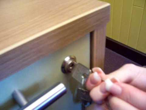 Instructions Drawer Lock Ped Youtube