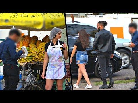 Se burlo de ella por vender frutas y se lleva lección por interesado, Video: Se burló de ella por vender frutas y se lleva lección por interesado, Dominican Republic TV, Dominican Republic TV